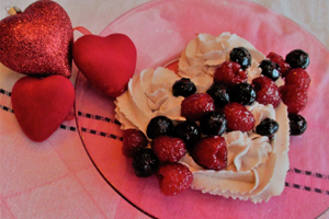 Whipped Cream Heart