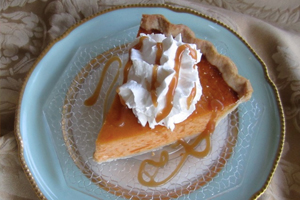 Ginger Pumpkin Pie