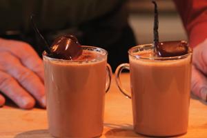 GOURMET VANILLA TRUFFLE HOT CHOCOLATE