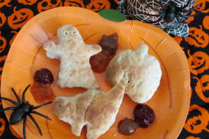 Halloween Dipping Bread