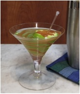 Robert Lambert Hot Ginger Caramel Apple Martini