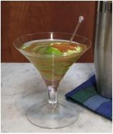 Robert Lambert Hot Ginger Caramel Apple Martini