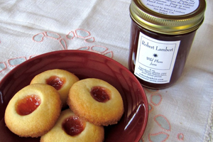 Lambert's Signature Thumbprint Cookies