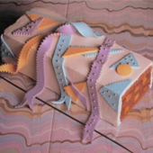 Rivers of Ribbon Cake