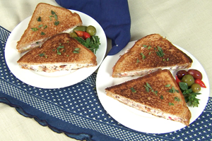 THE GREEK GRILLED SANDWICH