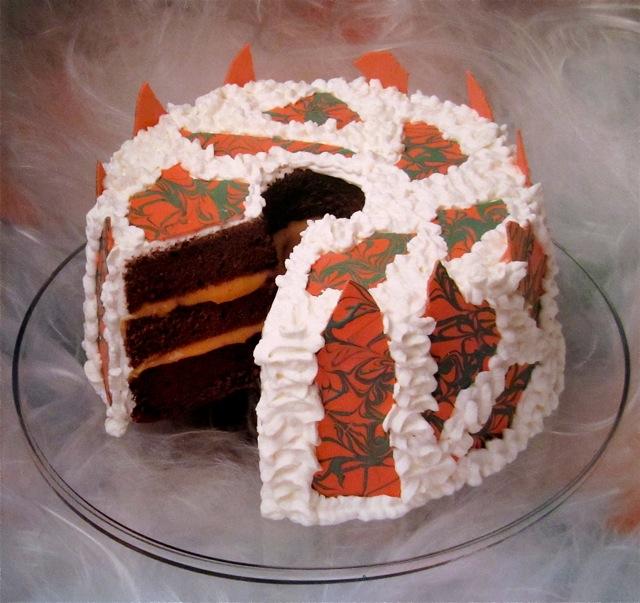 Robert Lambert Treature Feature Halloween Cake